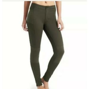 Athleta trailsetter  moto ponte pants green/Olive